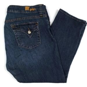 Kut From The Kloth Cropped Jeans Size 12 KF817MA3R